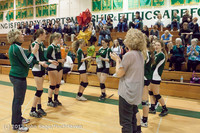 1976 VHS Volleyball Seniors Night 2012 102412