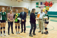 1988 VHS Volleyball Seniors Night 2012 102412