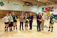 1991 VHS Volleyball Seniors Night 2012 102412