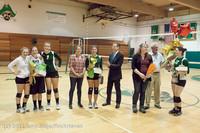 1992 VHS Volleyball Seniors Night 2012 102412