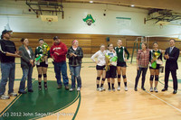 1995 VHS Volleyball Seniors Night 2012 102412