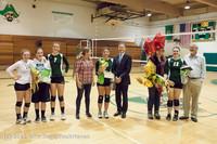 2000 VHS Volleyball Seniors Night 2012 102412