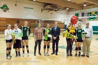 2003 VHS Volleyball Seniors Night 2012 102412