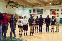 2006 VHS Volleyball Seniors Night 2012 102412