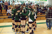 2011 VHS Volleyball Seniors Night 2012 102412