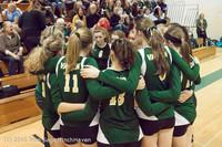 2013 VHS Volleyball Seniors Night 2012 102412