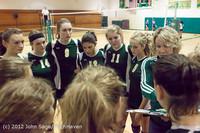 2025 VHS Volleyball Seniors Night 2012 102412