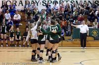 5150 Varsity Volleyball v Casc-Chr 101011