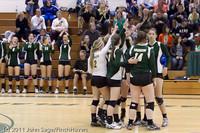 5153 Varsity Volleyball v Casc-Chr 101011