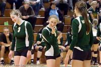 5215 Varsity Volleyball v Casc-Chr 101011