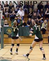 5221 Varsity Volleyball v Casc-Chr 101011