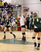 5248 Varsity Volleyball v Casc-Chr 101011