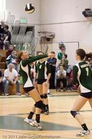 5251 Varsity Volleyball v Casc-Chr 101011