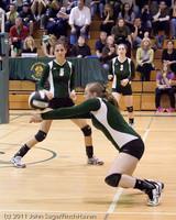 5267 Varsity Volleyball v Casc-Chr 101011