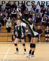 5278 Varsity Volleyball v Casc-Chr 101011