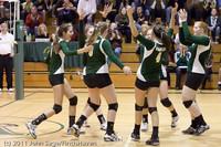 5288 Varsity Volleyball v Casc-Chr 101011
