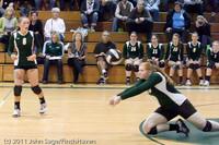 5327 Varsity Volleyball v Casc-Chr 101011
