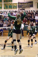5336 Varsity Volleyball v Casc-Chr 101011