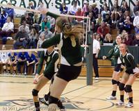5338 Varsity Volleyball v Casc-Chr 101011