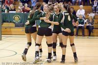 5345 Varsity Volleyball v Casc-Chr 101011