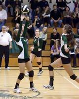 5351 Varsity Volleyball v Casc-Chr 101011