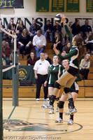 5354 Varsity Volleyball v Casc-Chr 101011