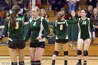 5365 Varsity Volleyball v Casc-Chr 101011