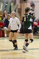 5378 Varsity Volleyball v Casc-Chr 101011