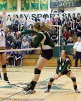 5393 Varsity Volleyball v Casc-Chr 101011