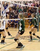 5395 Varsity Volleyball v Casc-Chr 101011