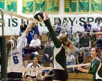 5402 Varsity Volleyball v Casc-Chr 101011