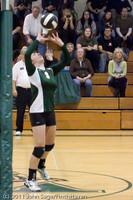 5414 Varsity Volleyball v Casc-Chr 101011