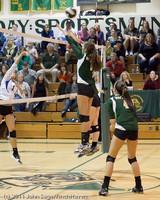 5437 Varsity Volleyball v Casc-Chr 101011