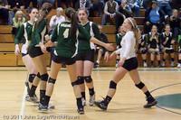 5442 Varsity Volleyball v Casc-Chr 101011