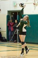 5446 Varsity Volleyball v Casc-Chr 101011