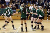 5456 Varsity Volleyball v Casc-Chr 101011