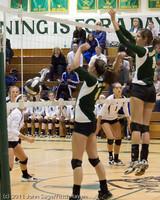 5479 Varsity Volleyball v Casc-Chr 101011