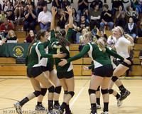 5485 Varsity Volleyball v Casc-Chr 101011