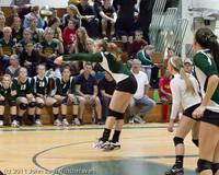 5494 Varsity Volleyball v Casc-Chr 101011
