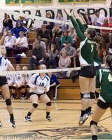 5528 Varsity Volleyball v Casc-Chr 101011