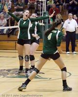 5532 Varsity Volleyball v Casc-Chr 101011