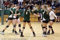 5534 Varsity Volleyball v Casc-Chr 101011