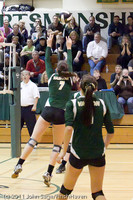 5569 Varsity Volleyball v Casc-Chr 101011
