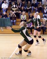 5581 Varsity Volleyball v Casc-Chr 101011