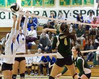 5589 Varsity Volleyball v Casc-Chr 101011