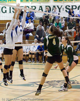 5590 Varsity Volleyball v Casc-Chr 101011