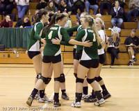 5596 Varsity Volleyball v Casc-Chr 101011