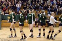 5599 Varsity Volleyball v Casc-Chr 101011