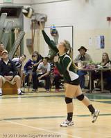 5609 Varsity Volleyball v Casc-Chr 101011
