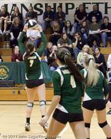 5614 Varsity Volleyball v Casc-Chr 101011